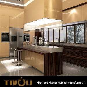 Quality High Gloss Lacquer Wooden Kitchen Cabinet for Australia Residential House pictures & photos