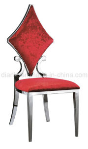 Hotel Furniture Stainless Steel Fabric Banquet Chair (B9989) pictures & photos