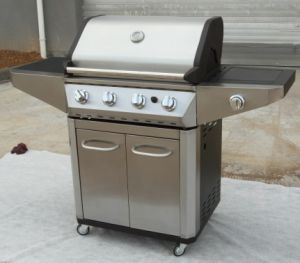 Stainless Steel Outdoor Gas Barbecue Grill Made in China pictures & photos