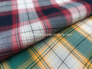 100% Rayon Yarn Dyed Check Fabric-Lz7450 pictures & photos