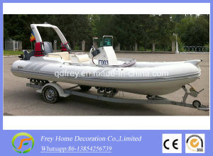 Summer Sport Ce 4.7m White Rib Fibreglass Fishing Boat pictures & photos