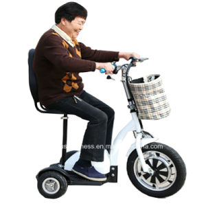 16inch 3 Wheels off Road Electric Mobility Scooter with 500W Power pictures & photos