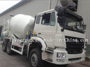 Sinotruk Concrete Mixer Truck Capacity Cement Mixer Truck pictures & photos