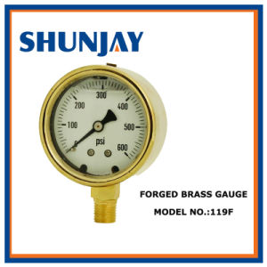 Oxygen Gauge for Refrigeration & Plumbing Small Tanks pictures & photos