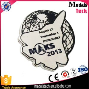 Eco-Friendly Cheap High Quality Sticker Lapel Pins with Printing Logo pictures & photos