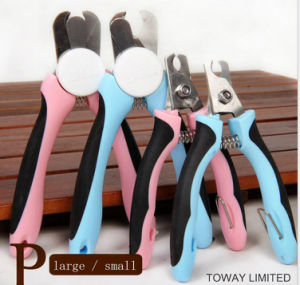 Design Stainless Steel Pet Supply Grooming Tools Pet Nail Scissors pictures & photos