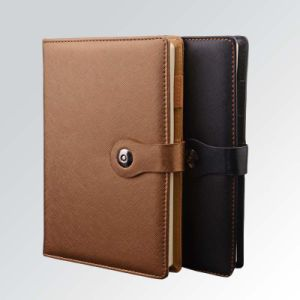 Print Hot Selling High Quality Leather Notebook pictures & photos