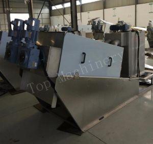 Volute Screw Sludge Dewatering Machine pictures & photos