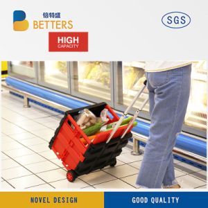 Manufacturers High-Capacity Plastic Carry Container Cart pictures & photos