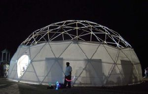 Full Colour Printing Large Tent Exhibition Marquee Geodesic Dome Tent pictures & photos