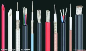 Extruded FEP Low Loss Microwave Coaxial Cable for Communication pictures & photos
