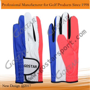 Full Printing Synthetic Leather Golf Glove pictures & photos