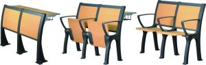 High Quality University Desk and Chair for Student Study pictures & photos