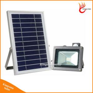 Outdoor IP65 Solar Flood Light with Motion Sensor 12 LED Solar Light for Garden Wall Street Lawn Lighting pictures & photos