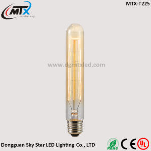 20W E27 Warm White Tube Shape Tungsten Filament T225 Bulb pictures & photos