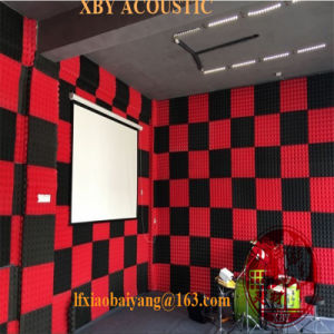 Studio Soundproof Acoustic Foam for Recording Studio Decoration Acoustic Panel Wall Panel Ceiling Panel pictures & photos