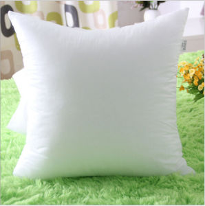 Siliconized Fiber Filling Throw Bed Pillow with Insert pictures & photos