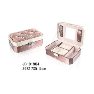 Wholesale Newest Elegant PU Leather Jewelry Box pictures & photos