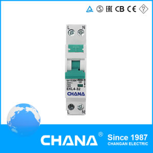 1p+N 16A RCBO 100mA 6ka Residual Current Device pictures & photos