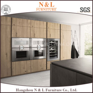 Kitchen Furniture Melamine Particle Board Kitchen Cabinet pictures & photos