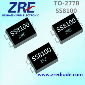 8A Ss840 Thru Ss8100 Surface Mount Schottky Barrier Rectifier Diode to-277b Package pictures & photos