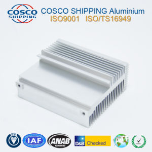 6063-T5 Aluminum Profile for Heatsink with Color Anodizing pictures & photos