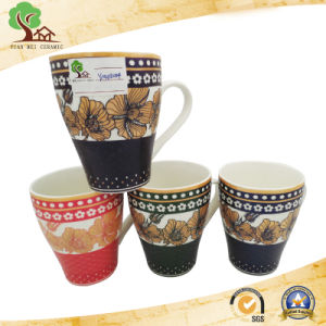 Yuanmei New Design Ceramic Decal Coffee Mug pictures & photos