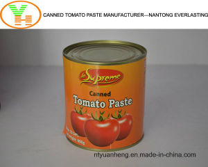 Canned Tomato Paste Manufacturer Wholesale Food OEM ISO Halal pictures & photos