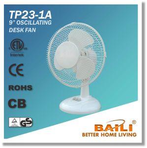 """9"""" Oscillating Cooling Desk Fan/Table Fan/Worktop Fan pictures & photos"""