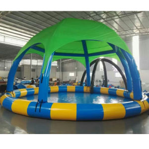 Indoor Water Park Tarpaulin Inflatable Playground Pool or Ball Pit with Tent pictures & photos