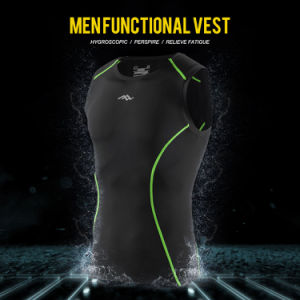Latest Men Cycling Wear Sport Tops and Fitness Compression Vest
