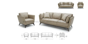 Ls0603 Fancy Style Fabric Sectional Modern Living Room Furniture pictures & photos