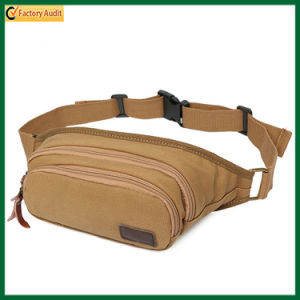 Men Multifunctional Canvas Waist Bags Musette Bags (TP-WTB026) pictures & photos