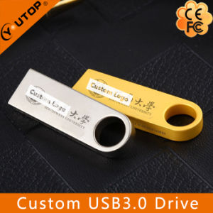 Custom Laser Engraved Metal Keyring Flash Drive USB3.0 (YT-3295-02) pictures & photos