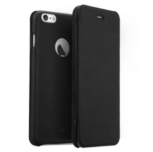 Black PU Leather Phone Case for Sale pictures & photos