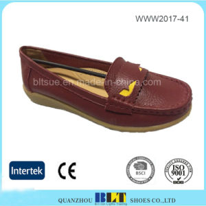 New Style High Quality Slip on Loafer Women Shoe pictures & photos