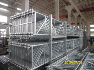 High Quality Layher Scaffolding System with SGS Certificated pictures & photos