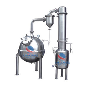 Stainless Steel Electricity Heating Roundness Vacuum Distillating Machine Without Agitator pictures & photos