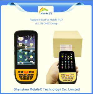 PDA with Printer, Barcode Scanner, RFID Reader, All in One Data Collector