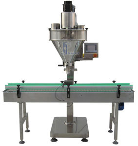 China Automatic Linear Powder Filling Machine pictures & photos