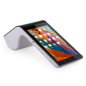 Handheld Android POS Machine All in One with Printer Scanner NFC Reader for Supermarket pictures & photos