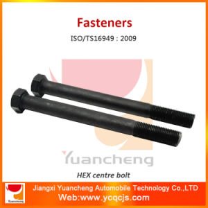 Leaf Spring Parts Hexagonal Center Bolts with Zin Plate pictures & photos