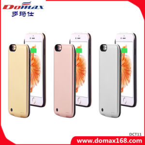 Li-ion Battery Wireless Charger for iPhone 6 Case Power Bank with RoHS pictures & photos