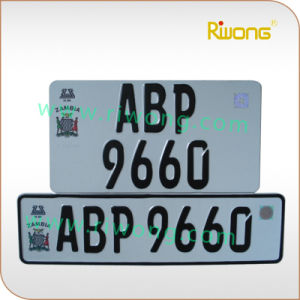 High Security Car Number Plate Blank pictures & photos