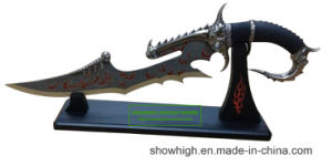 Fantasy Knife Decorative Knife with Stand 9512056 pictures & photos