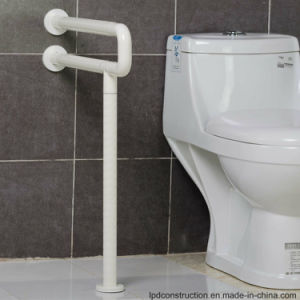 Wall to Floor Handicapped Grab Bars Urinal Armrest for Bathroom
