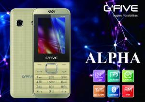 Gfive Alpha Feature Phone with FCC, Ce, 3c