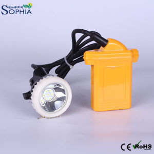 Rechargeable 4.2ah LED Head Lamp with IP 68 Waterproof