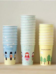 Disposable Printed Paper Tea Cups pictures & photos