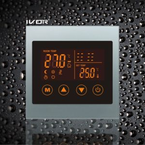 Underfloor Heating Thermostat Touch Switch Acrylic Frame (SK-HV100L8-L/M) pictures & photos